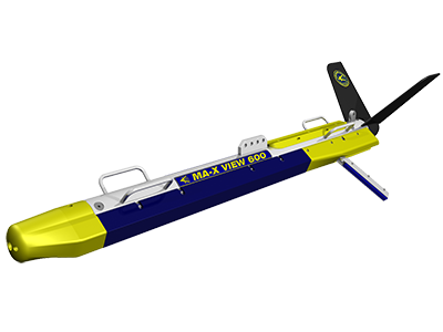 Klein MA-X View 600 side scan sonar towfish