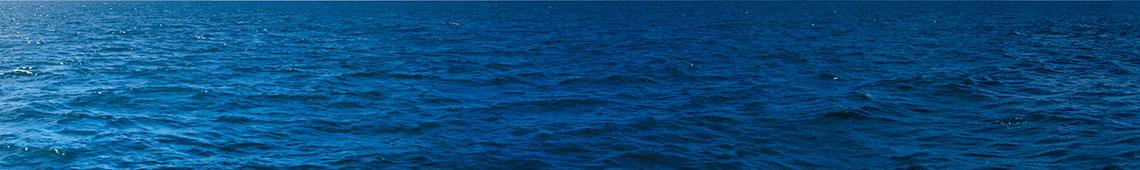 Aerial view of ocean surface